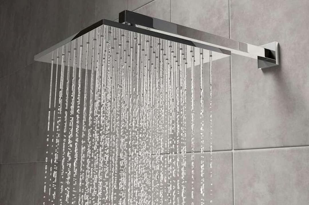 Water From Shower Head