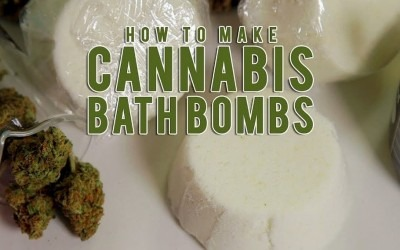 How To Make Easy Cannabis Infused Bath Bombs