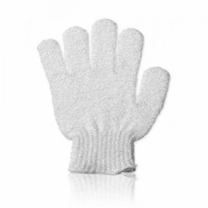 The perfect white Bath Exfoliating Glove