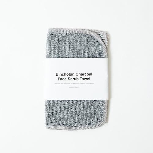 Perfect for exfoliation Charcoal Face Scrub Towel