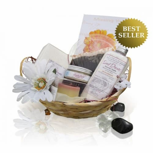 The perfect and relaxing Spa Gift Basket for Expecting Moms