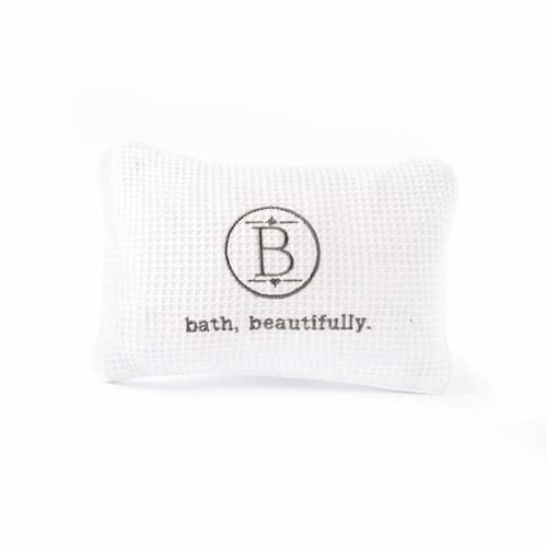 Nice and comfy Knit Bath Pillow