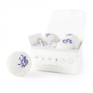 White Sleeping Bath Bomb Four Pack perfect for relaxing