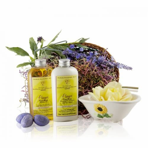 Aromatic Soft Floral Scent Gift Basket for any occasion