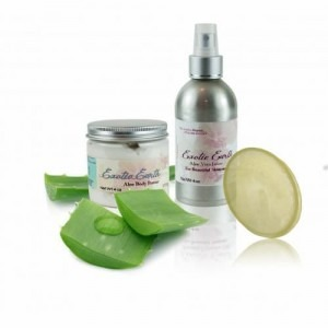 The perfect Soothing Aloe Vera Skin Gift Set for cancer patients