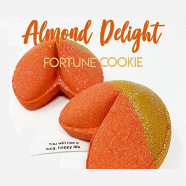 Almoond Delight Fortune Cookie Bath Bomb